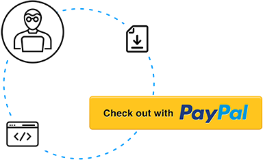 cycle graph representing paypal